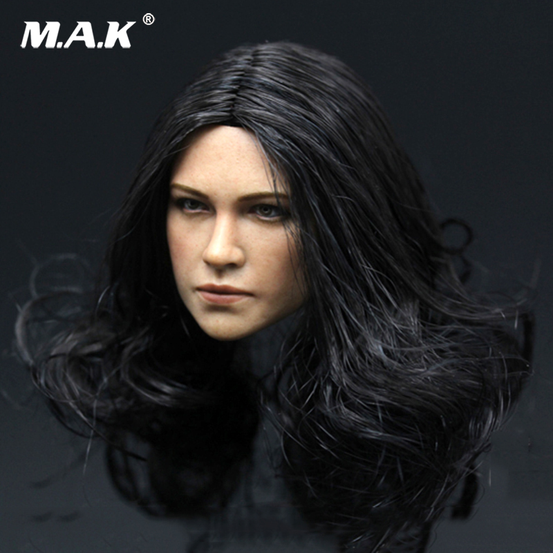 1/6 Scale Michelle Rodriguez Head Carving Fast and Furious Letty Headplay Female Head Sculpt   for 12 Body Figures Toys<br>