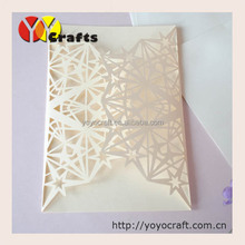 invitation cards for wedding 50sets/lot laser cut star wedding invitation cards