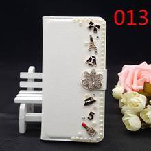 25 Styles for BlackBerry Classic Q20 Handmade Luxury Bling Glitter Diamond Rhinestone PU Leather Filp Cover Wallet Case DIY