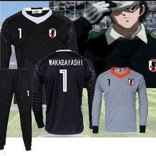 Soccer-Jerseys Uniform Captain Tsubasa Oliver Atom Goalkeeper Wakabayashi Football Camisetas