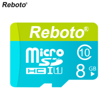 Reboto New Micro SD Card 2GB 4GB 8GB Memory Card Full Capacity Guaranteed cartao de memoria Microsd(China)