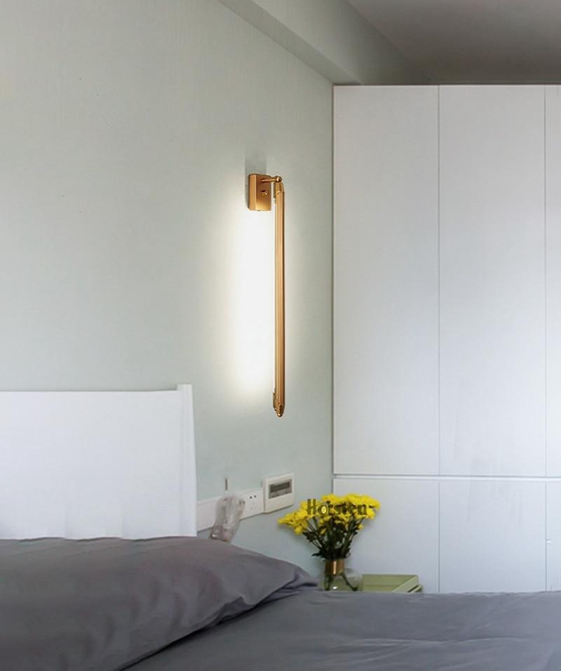 Nordic Minimalist T5 LED Wall Lamp 68cm Long Living Room Bar Bedroom Bedside Wall Lights Retro Home Decoration Lighting Fixtures 220V (13)