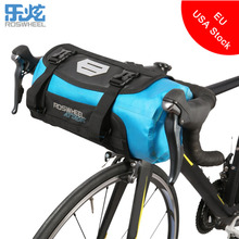 ROSWHEEL ATTACK Bicycle Front Tube Bag Waterproof Bike Handlebar Basket Pack Cycling Front Frame Pannier Bicycle Accessories(China)