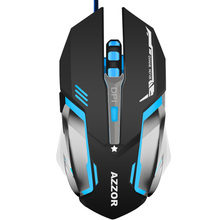 Professional Wired Competitive Gaming Mouse USB High Speed Sports Gamer Mice for Computer PC Laptop Desktop Notebook