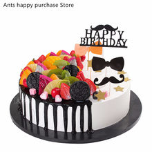 Birthday cakes model simulation model fruit mousse cakes display window samples fake cake artificial cake decorations(China)