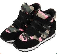 Nice Nice Latest Fashion Style  Height  Increasing Lovely Camouflage Popular In Europe Sneakers Shoes Fashion C1