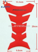 Motorcycle 3D Rubber Tank Pad Protector Gas Decal Sticker For Honda CBR 600 1000R CB1300 CB600F Hornat CBR 250R 125R CBF125 Red(China)