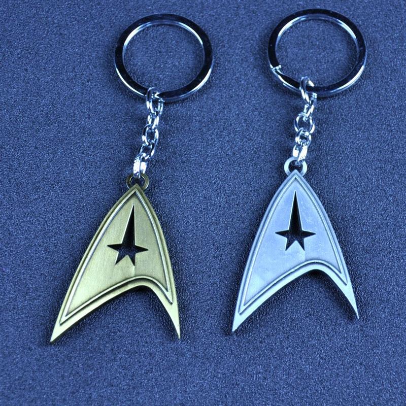 Star Trek Enterprise crystal Key chain