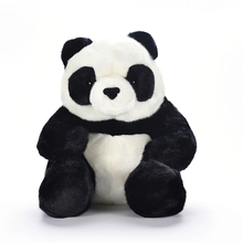 Plush Sitting Panda Seated Toys Soft Cute China National Animal Big Chinese Stuffed Dolls Best Gifts for Kids Friend Baby 10""