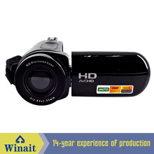 Freeshipping cheap digital video camera HD-E5 12mp 720p hd rechargeable lithium battery digital video camcorder(China)
