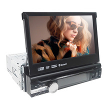 Universal 1 din Car dvd gps navigation for Universal car dvd player car radio car multimedia stereo audio SD USB Bluetooth SWC(China)