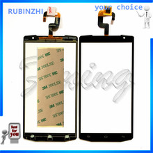 RUBINZHI Top Quality Phone Touch Screen For OUKITEL K10000 Touchscreen Digitizer Sensor Front Glass Touch Panel+Tape(China)