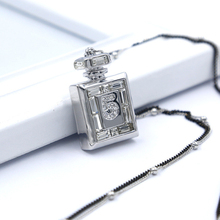 CNANIYA Brand Jewelry Perfume Bottle Pendant Silver Color Long Necklace Women Bijoux Coliers Femme 2016/Bijouterie/Joyeria Mujer(China)