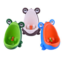Buy Frog Children Boy Potty Toilet Training Closet Baby Kids Child Stand Vertical Potty Toilet Infant Toddler Wall-Mounted Urinal for $11.45 in AliExpress store