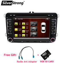 FREE SHIPPING InStock Factory Fit VW Car DVD for VolksWagen Passat Jetta Polo Car DVD GPS Golf Car Radio for Volkswagen-65D