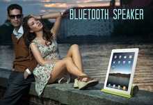 OARIE Portable Bluetooth 4.0 Speaker Stand Speaker for phone Ipad Wireless Speaker  Mini Stereo Audio Sound With Microphone