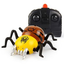RC Spider Shaped Micro Wall Climbing Spider Remote Control Racing Car, USB Rechargeable