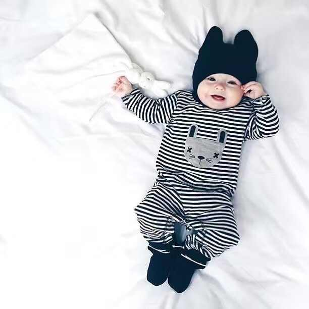 cc00050dc 2019 Spring Autumn New Cute baby boy clothes Baby Rompers Long sleeve  Jumpsuit baby girl clothing