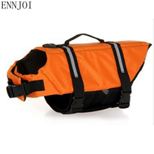 ENNJOI XS-XL New Design Pet Dog Save Life Jacket Safety Clothes Life Vest Outward Saver Swimming Preserver Dog Clothes Swimwear(China)
