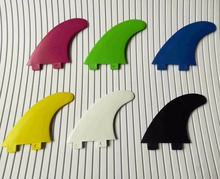 Surfboard Fcs Fins Surf Fins G5 Thrusters surfing fins medium size(3 pcs)