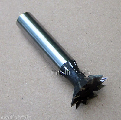30mm x 60 Degree HSS Dovetail Cutter End Mill<br>