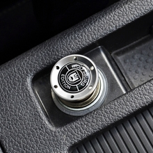 Silver Aluminum Light Car Cigarette Lighter For VW MK6 GOLF7 GTI CC Jetta V SCIROCCO R POLO Tiguan(China)