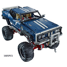 Latest Technics 4x4 Crawler Exclusive Edition Jeep building block RC cars Sport Utility Vehicle model compatible legoe 41999 toy