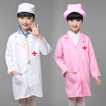 Buy Children Halloween Cosplay Costume Girls Party Cosplay Clothing Kids Doctor Costume Nurse Uniform Hat +Mask 89 for $9.90 in AliExpress store