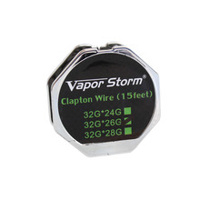 Buy Vapor Storm Clapton Wire RDA RBA RTA Vaporizer Heating Wire Atomizer Coil E cigarette Resistance coil Alien Wire Tank Vape for $3.16 in AliExpress store