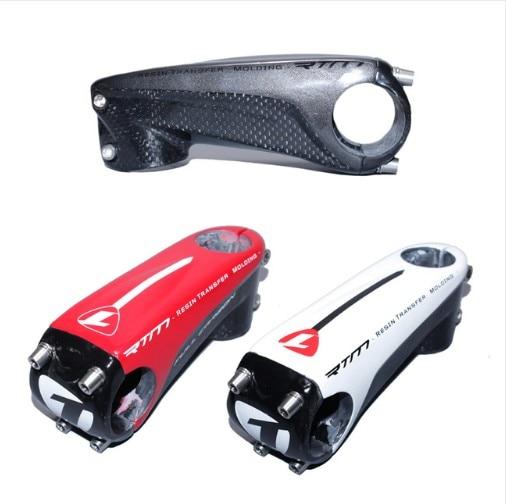 Road/mountain bike series pack ultralight carbon fiber stem / riser diameter 80mm-120MM/28.6-31.8mm red/black/white 3K glossy<br><br>Aliexpress