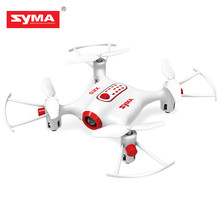 SYMA X20 RC Drone RTF 2.4GHz 4CH 6-axis Gyro quadcopter/ One Key to Take off/landing drone/3D Flip headless mode helicopter gift(China)