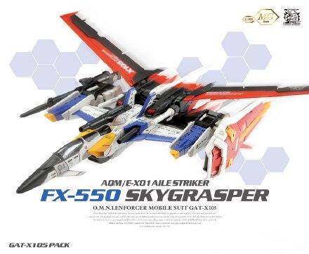 Sky Grasper Gundam MG assembly model 1:100 techmarine Custom action figure robot anime Assembled gundam model kits master grade<br><br>Aliexpress