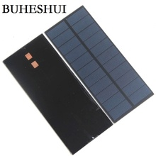 BUHESHUI 2.2W 5.5V Solar Cell Polycrystalline Solar Panel DIY Solar Battery Charger For LED Light 188*78.5MM 10pcs Free Shipping(China)