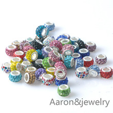 11x7.5mm 10Pcs white Color Murano Glass Beads Charms Fit Pandora Jewelry Bracelet For Jewelry Handmade YKL0320-X