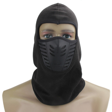 Winter Face Training Mask Cycling Exercise Masks Fleece Full Face Masks Cover Balaclava Ski Mask For Running Skiing Outdoor(China)