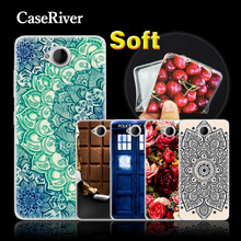CaseRiver Soft Silicone Cases For Nokia Microsoft Lumia 650, Protective Cell Phone Case Cover For Microsoft 650 Case Cover(China)