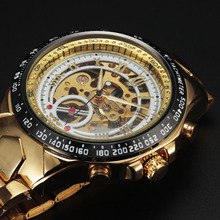 Buy New Winner Watches Men Sport Watch Mens Skeleton Watch Automatic Mechanical Army Military Business Wrist Watch Male Clock Box for $16.99 in AliExpress store