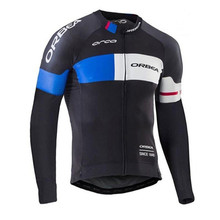 Orbea Winter Thermal Fleece Cycling Jerseys Long Sleeve Ropa Ciclismo MTB Bicycle Rock Racing Bike Clothes Cycling Clothing QN07(China)