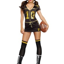 FGirl Halloween Costumes for Women Sexy Adult New Year Costume Player Club Costume FG11445
