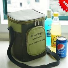 New Brand Portable Insulated Cooler Oxford Cloth lunch Bag Thermal Food Picnic Lunch Bags Ladies Carry Picnic Food Tote