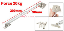 29cm Long 90mm Stroke 20kg Force Lift Support Furniture Gas Spring Silver Tone 2 Pcs(China)