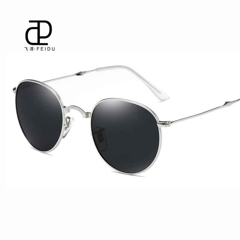 FEIDU Retro Brand Polarized Folding Sunglasses Men Alloy Frame Coating Mirror Eye Glasess For Women Outdoor Sport Oculos De Sol<br><br>Aliexpress
