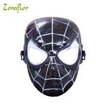 Zonaflor halloween mask Spider-Man 3 Cosplay Party Mask Halloween Decorated Novelty Masks Spider Man Decorative Mask(China)