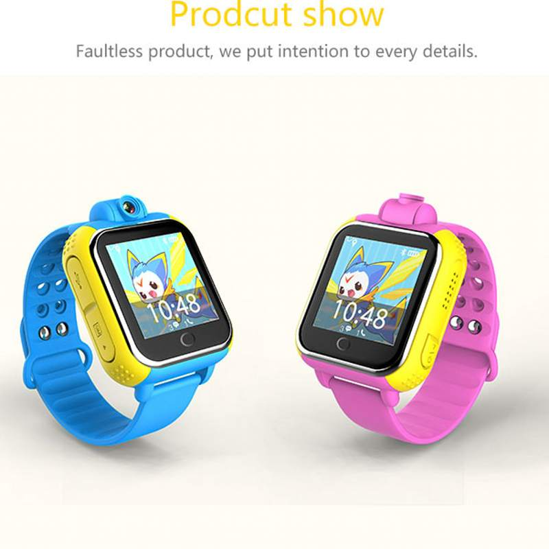 DHL Q10 GPS Tracker Watch 3G For Kids SOS Emergency WCDMA Camera GPS LBS WIFI Location Smart Wristwatch Q730 touch screen 1.54 <br>