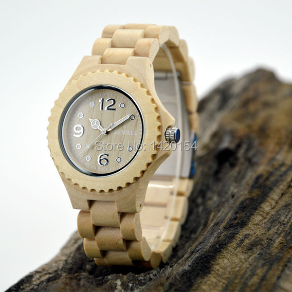 2016 Hot Sale Best Quality Sport Bewell Wooden Watch Free online<br>