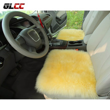 Genuine Wool Car Seat Cover Cushion Home Office Universal Decorative Mat High Quality Wool Cushion Car Styling Accessories
