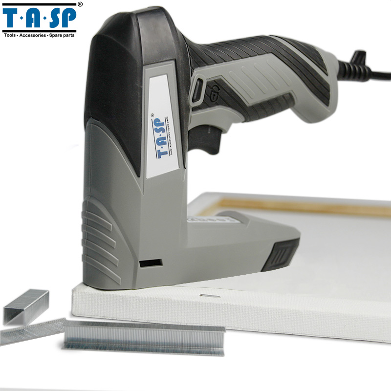 TASP 220V 45W Stapler Electric Staple Nail Gun Tacker for Woodworking Power Tool<br>