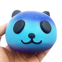 oyuncak funny gadgets antistress Starry Cute funny gadgets 10cm Panda Baby Cream Scented Squishy Slow Rising Squeeze Kids To(China)