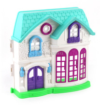 Play Toys Beautiful Little Girl House Theme Suite Villa For Children Plastic Unisex Direct Selling(China)