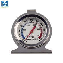 Dial Oven Thermometer Stainless Steel Construction Desktop thermometer Hangs Or Stand Temperature 50c~300c